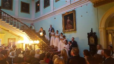 Speeches in the Vestibule