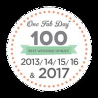 onefabday 100 best wedding venues 2013