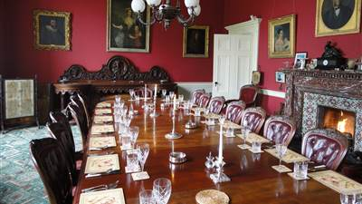 Temple House diningroom