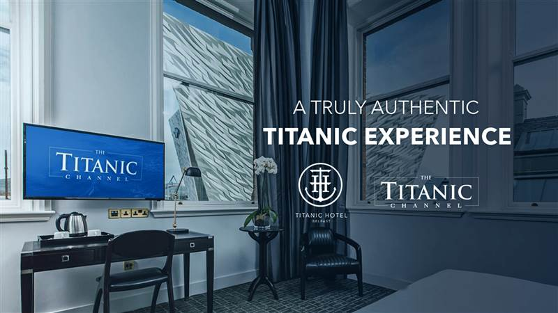Titanic Hotel Belfast strikes unique deal with Titanic Channel TV