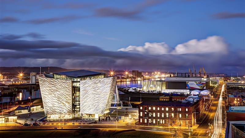 Titanic Hotel Belfast and the SSE Arena Belfast get ready to swing into spring!