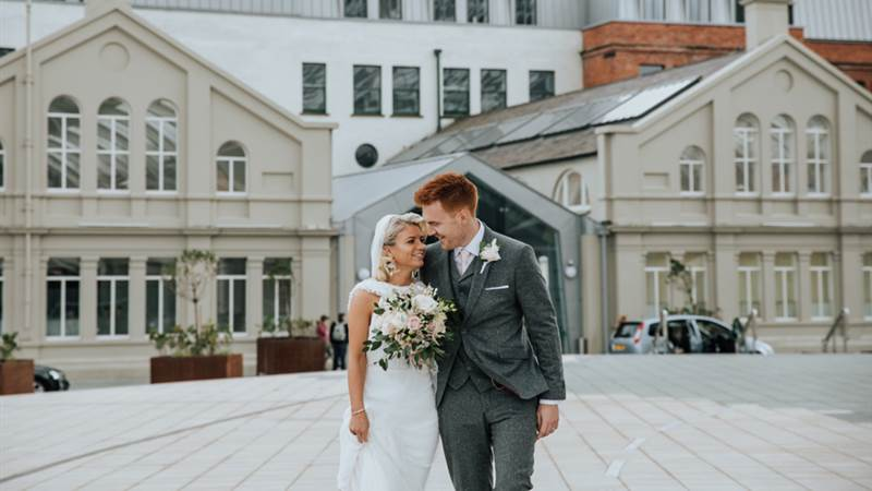 Aisleigh and Patrick's Titanic Wedding - Photos by Jordan Fraser