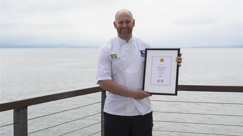Harcourt's Redcastle Oceanfront, Golf and Spa Hotel receives second AA Rosette
