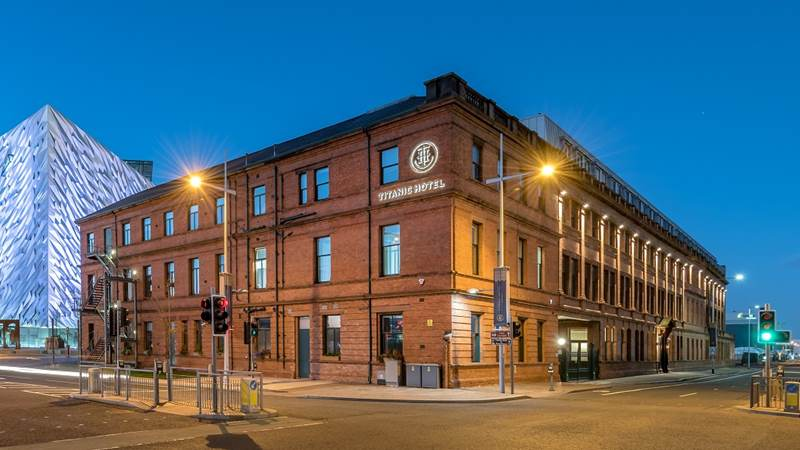 Double Delight for Titanic Hotel Belfast With Global Travel Awards Honour