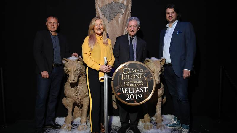 Winter is coming…  GAME OF THRONES THE TOURING EXHIBITION is coming to Belfast