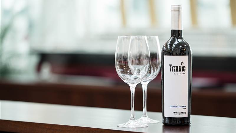 Raise your glass to a Titanic wine