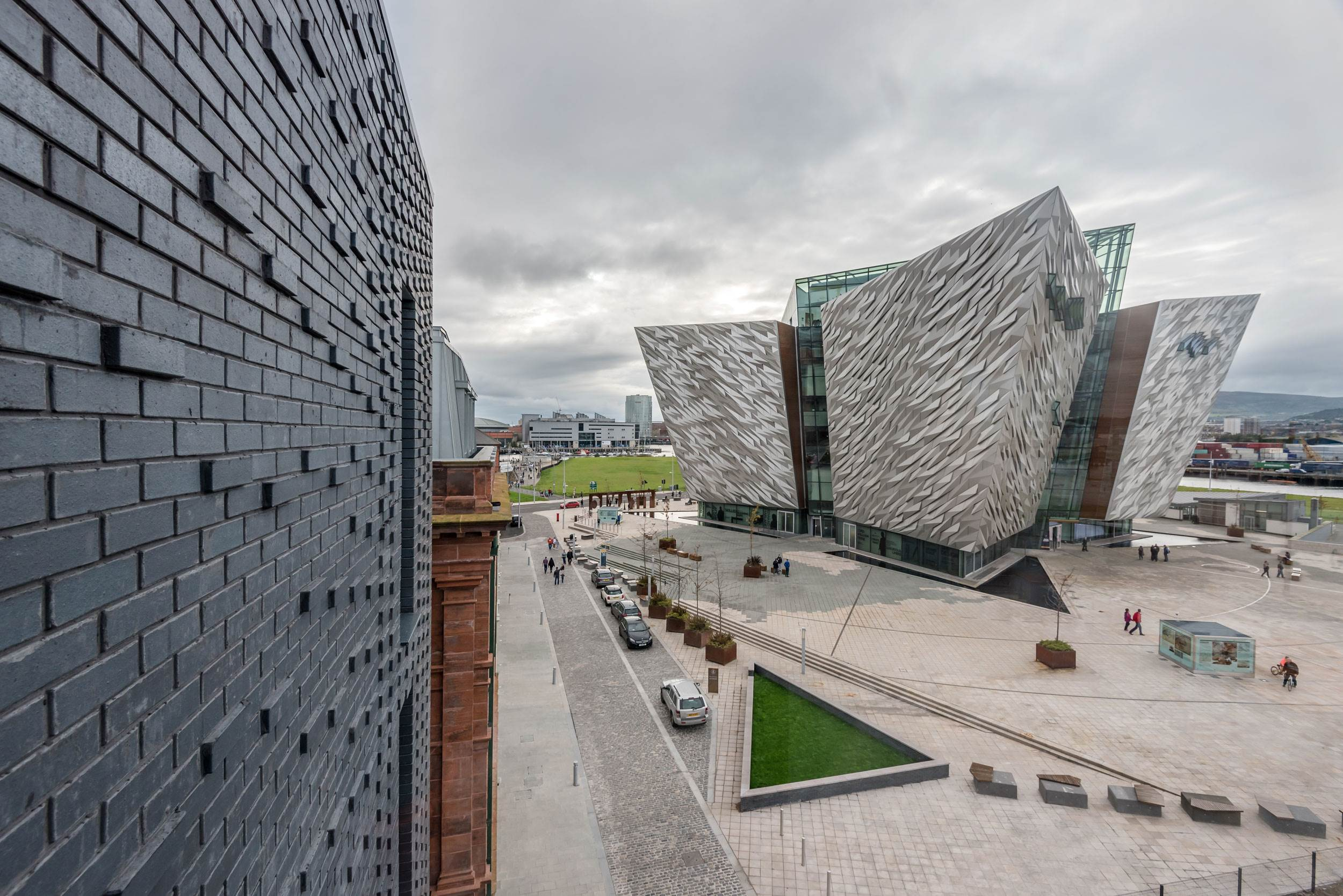 View of Titanic Belfast