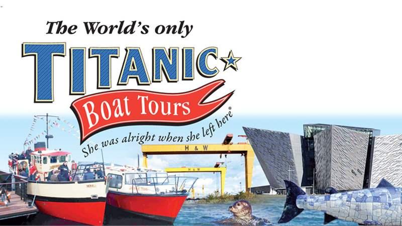 Titanic Boat Tour in Belfast