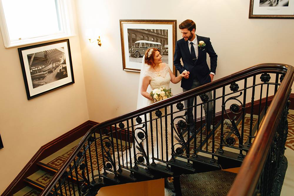 Wedding Main Stairs