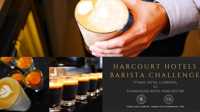 Harcourt Hotels Barista Challenge. Who will emerge victorious