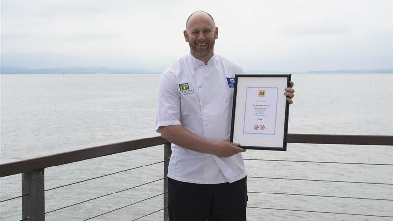 Harcourt's Redcastle Oceanfront, Golf and Spa Hotel second AA Rosette