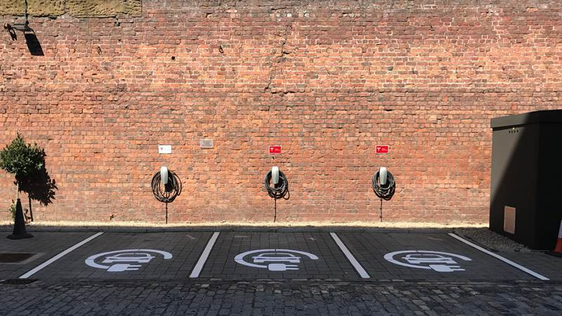Titanic Hotel and Rum Warehouse announces electric car charging system