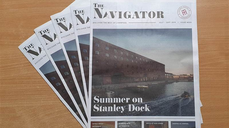 The Navigator Nine is out! Your Ultimate Guide to Liverpool