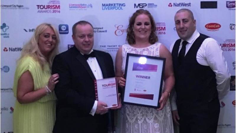 Twin Victory for TITANIC HOTEL at Tourism Awards