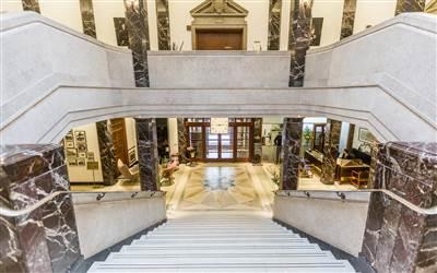 town hall lobby