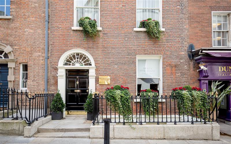 Trinity Townhouse Hotel remains open!