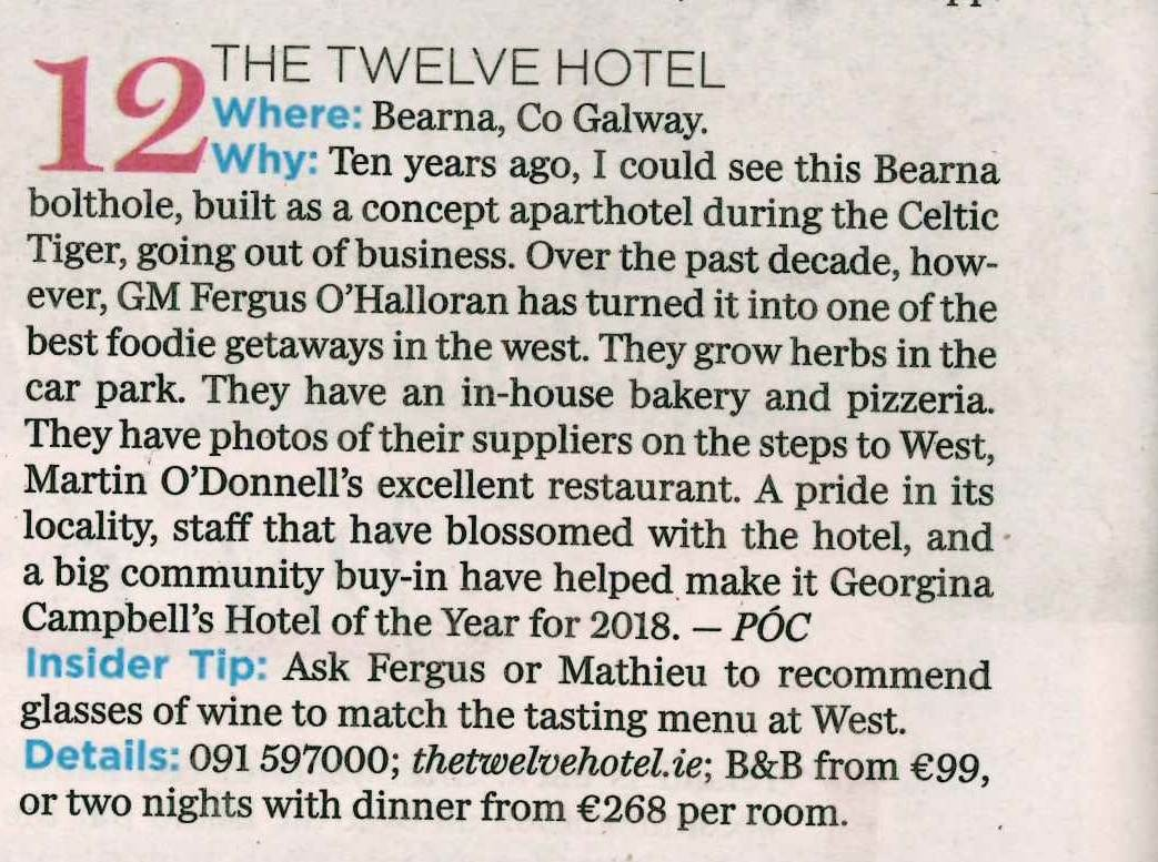 TheTwelveBoutiqueHotelGalway Fab50