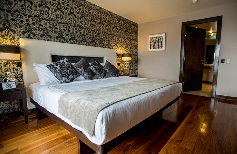 funnymoon suite at the Twelve is for couples only to enjoy the super king size bed
