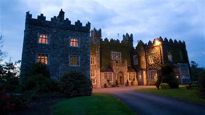 Waterford Castle at Dusk
