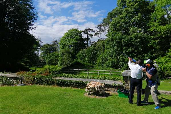 Castle Stay with Clay Shooting Experience