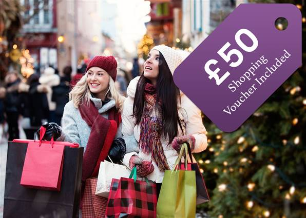 Shopping Break with £50 Voucher