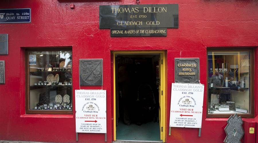 Thomas Dillons Claddagh Gold Museum