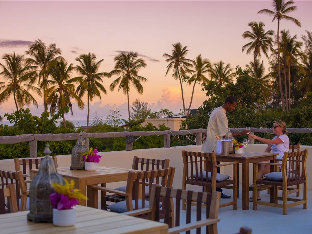 White Sand Villas Outdoor Dining