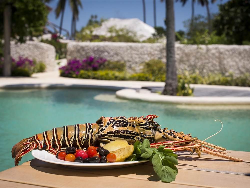 Poolside Seafood