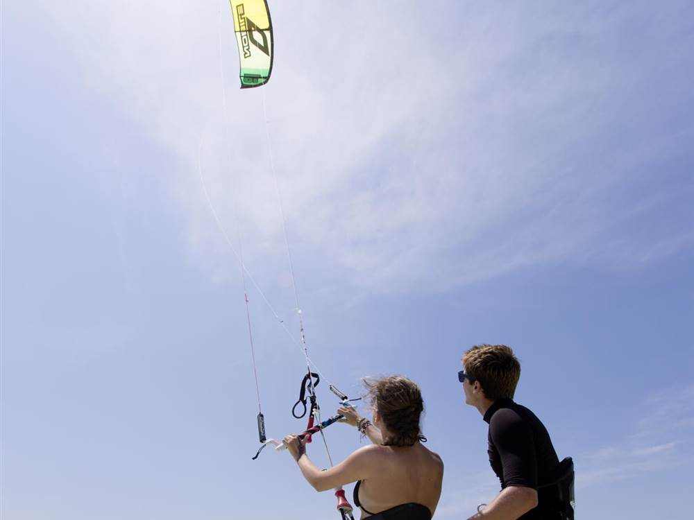 Kite Lesson White Sand Villas
