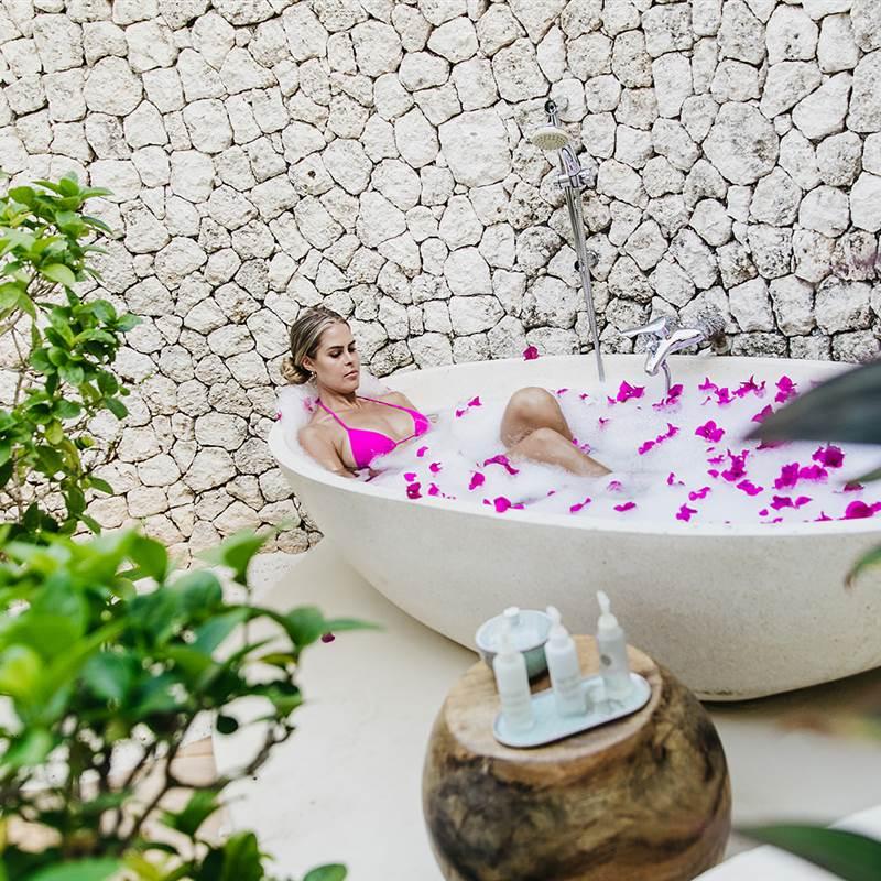 Bathtub Flowers