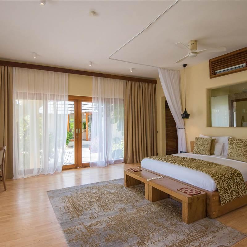 One bedroom villa - bedroom view