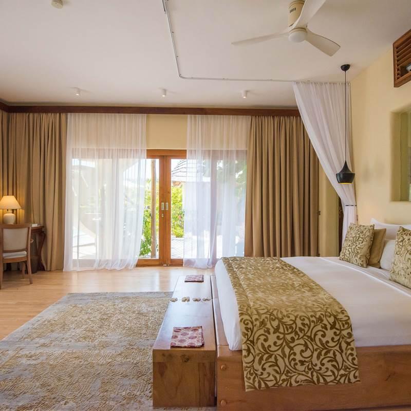 One bedroom villa - bedroom view 2