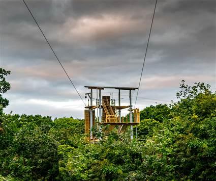 Wildlands Zipline Tower