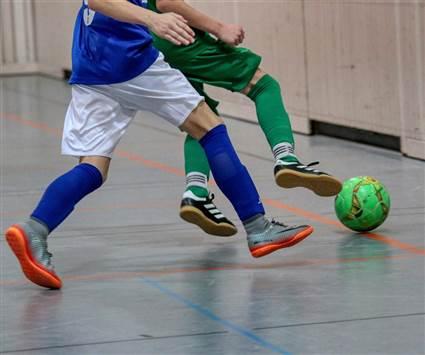sports hall soccer